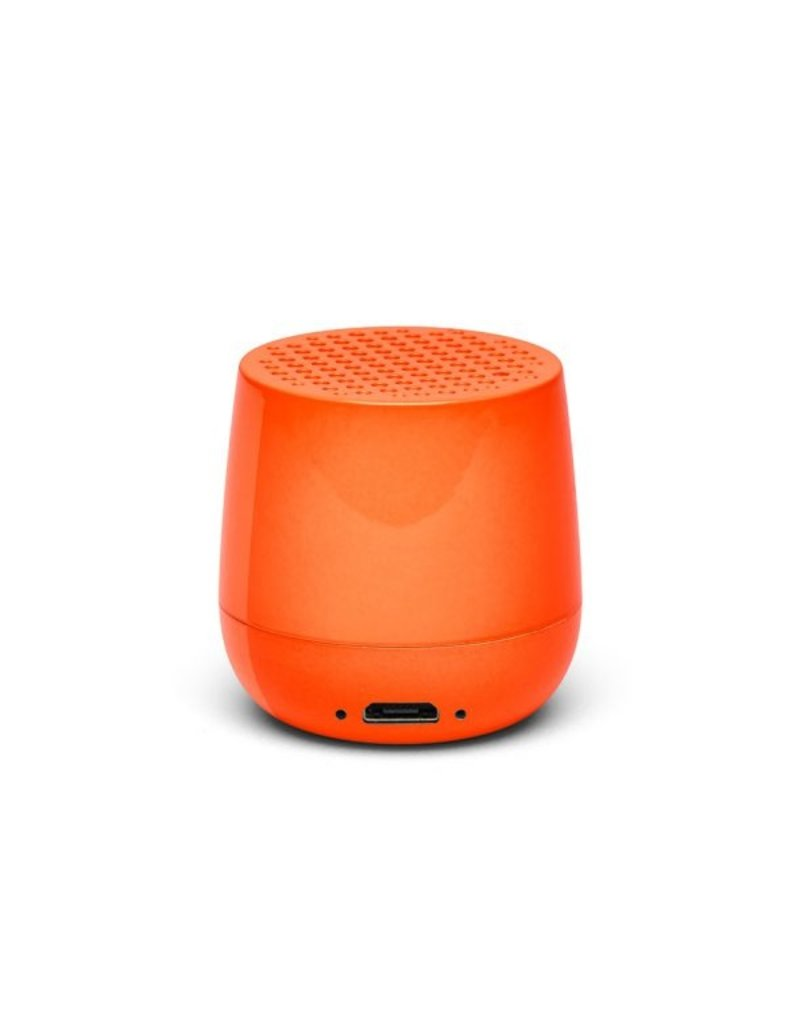 Lexon Speaker Bluetooth Mino Glossy Orange
