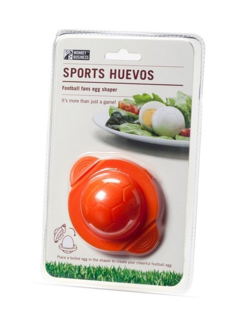 Monkey Business Sport Eieren Voetbal