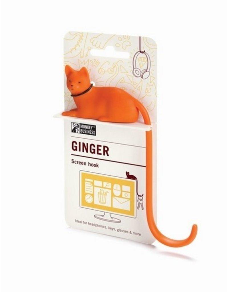 Monkey Business Ginger Screen Hook