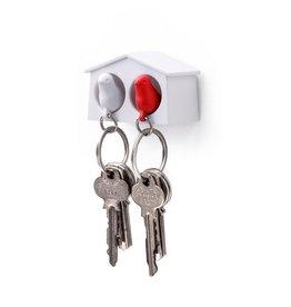 Qualy Sleutelhouder Mus Mini Duo Rood