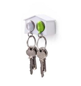 Qualy Sleutelhouder Mus Mini Duo Groen