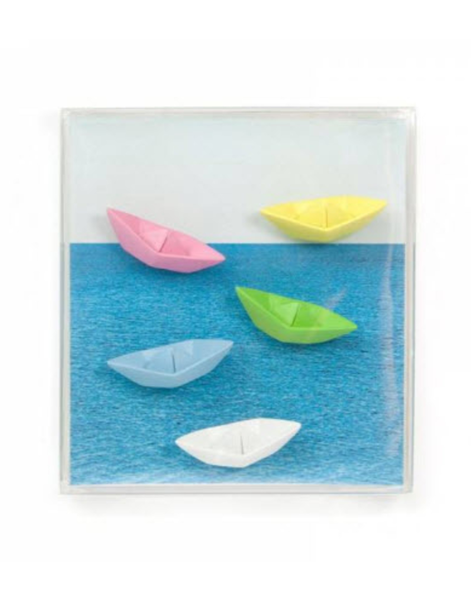 Trendform Magneten Paper Boat 5 stuks