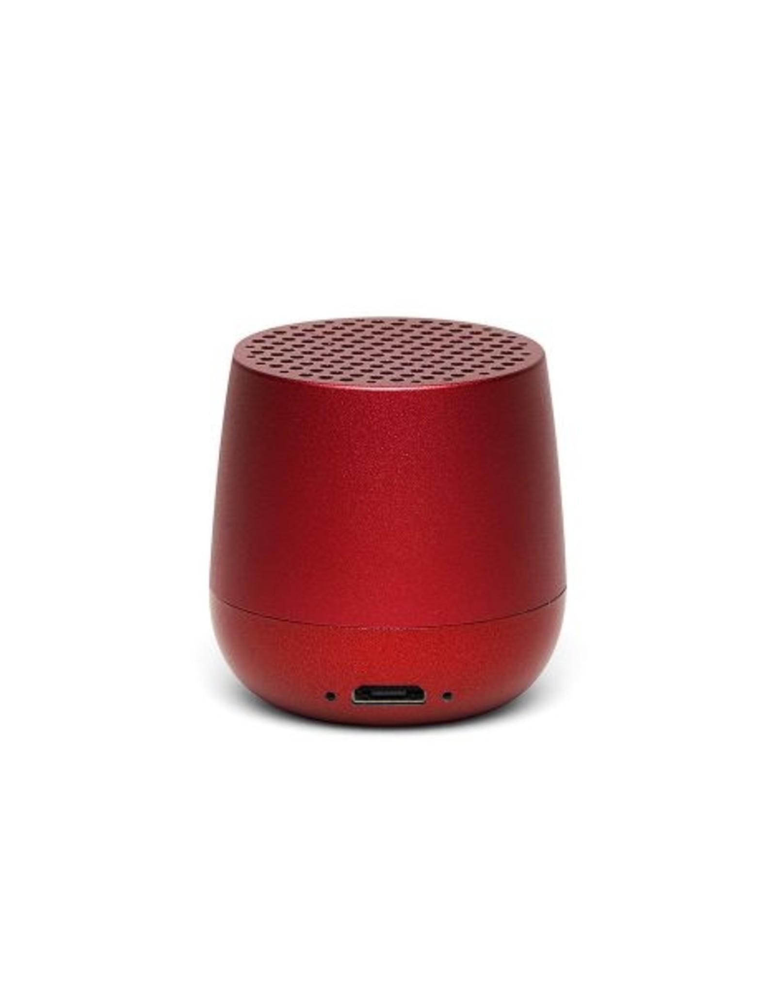 Lexon Speaker Bluetooth Mino + Rood