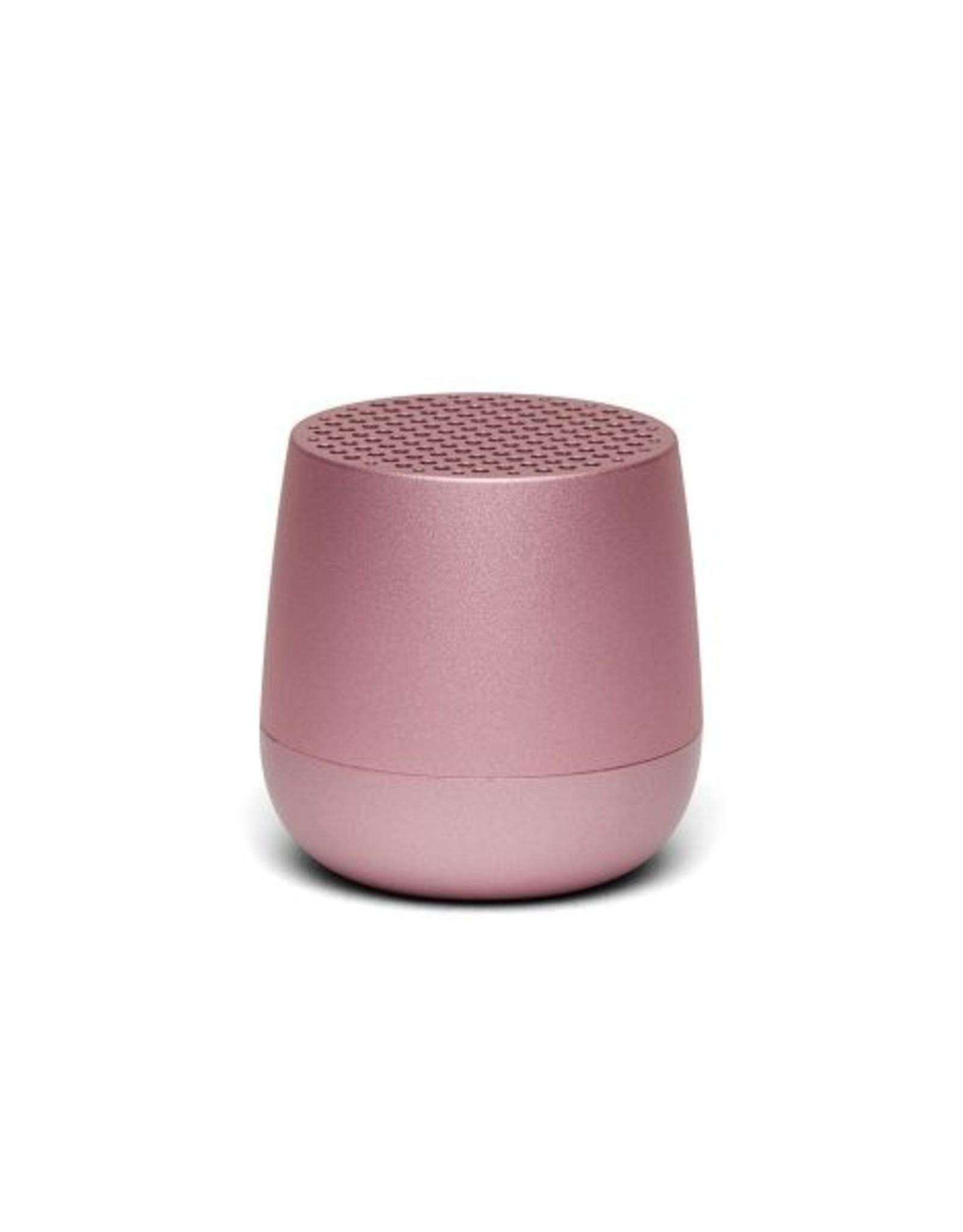 Lexon Speaker Bluetooth Mino Licht Roze