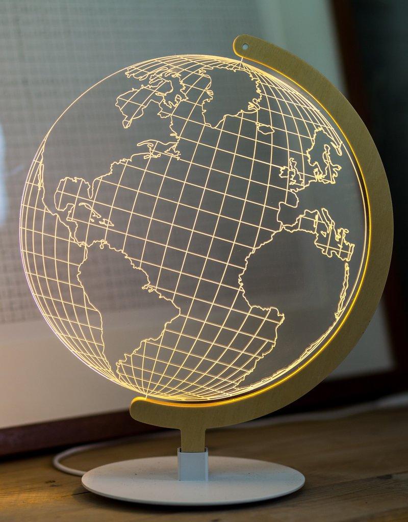 Studio Cheha Tafellamp: Globe Lamp