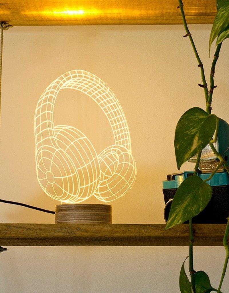 Studio Cheha Tafellamp Koptelefoon