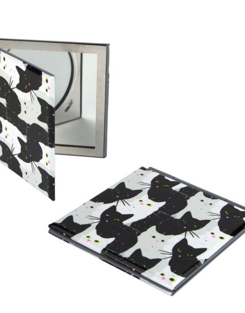 Pylones Zakspiegel Kat Zwart Wit