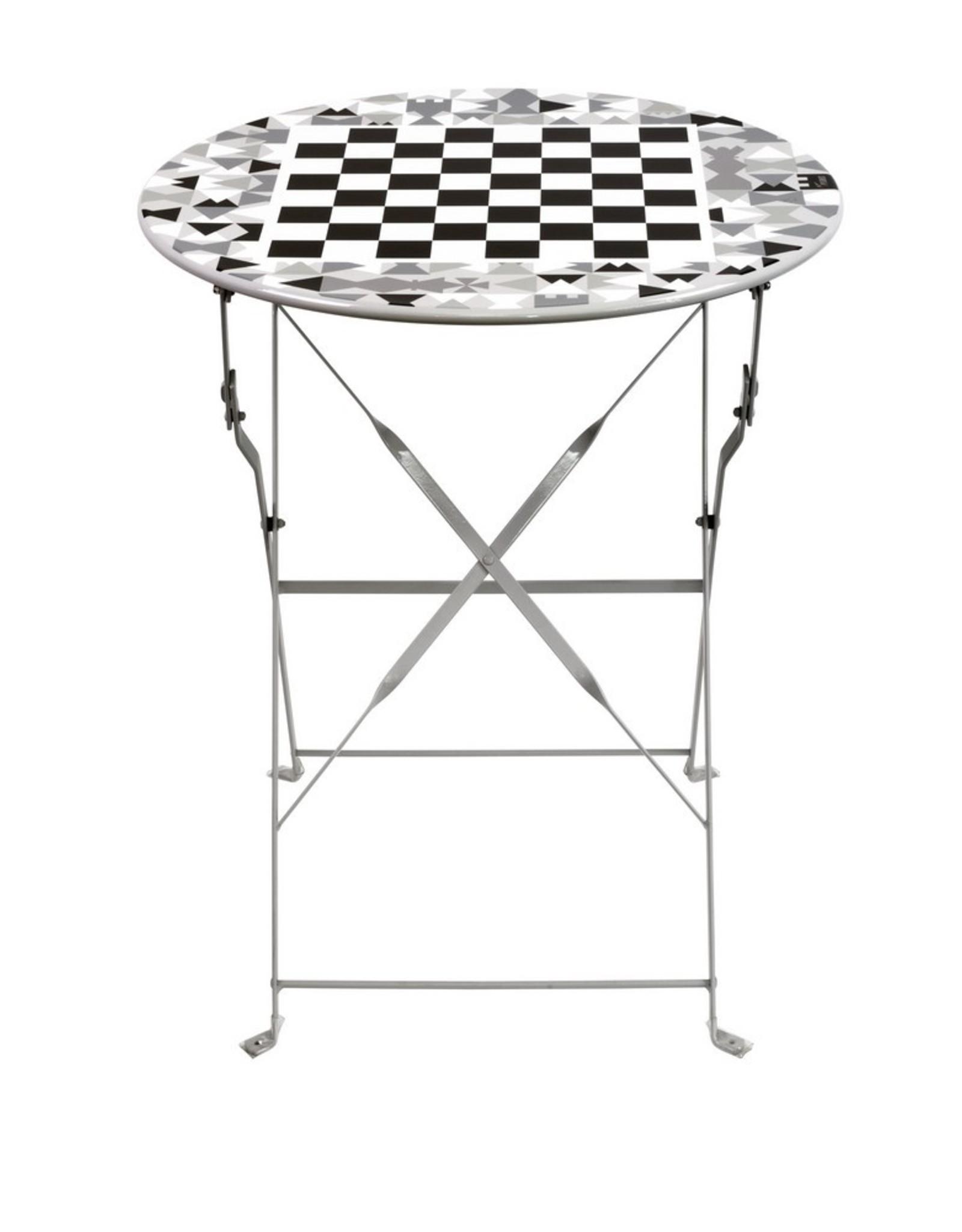 Pylones Tuintafel Chess