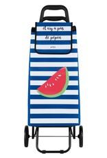 Derriere la Porte Boodschappenwagen Watermeloen 2 Wielen