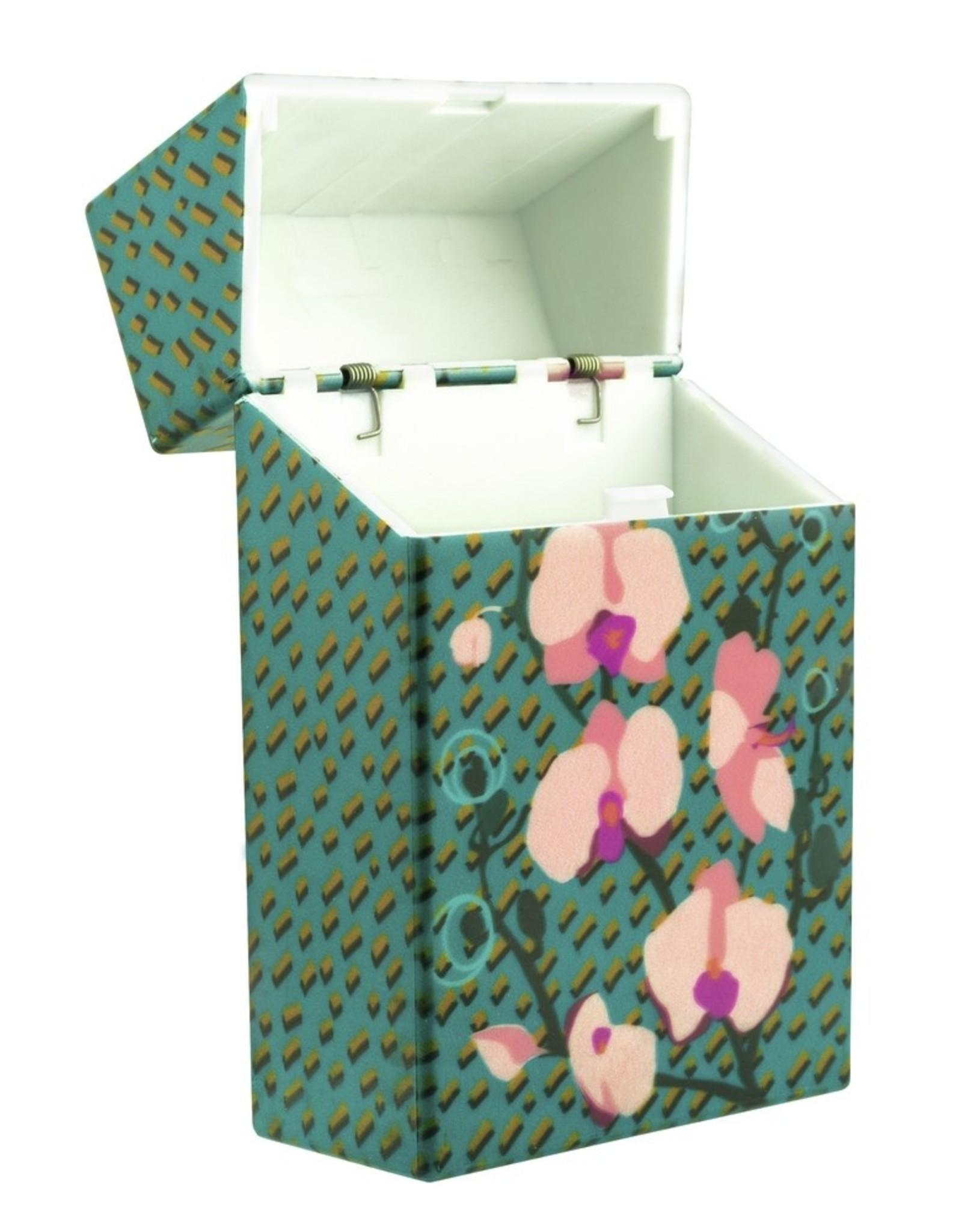 Pylones Sigarettendoosje Orchidee Blauw