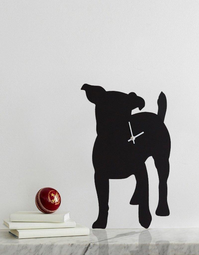 The Labrador Company Klok Jack Russell Zwart