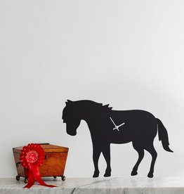 The Labrador Company Klok Paard Zwart