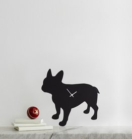 The Labrador Company Klok French Bulldog Zwart