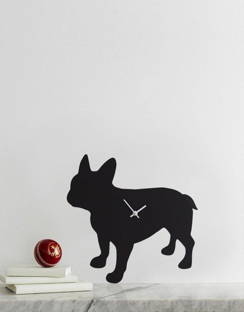 The Labrador Company Klok French Bulldog Zwart