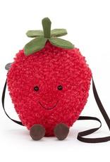 Jellycat Tasje Amuseable Strawberry Bag