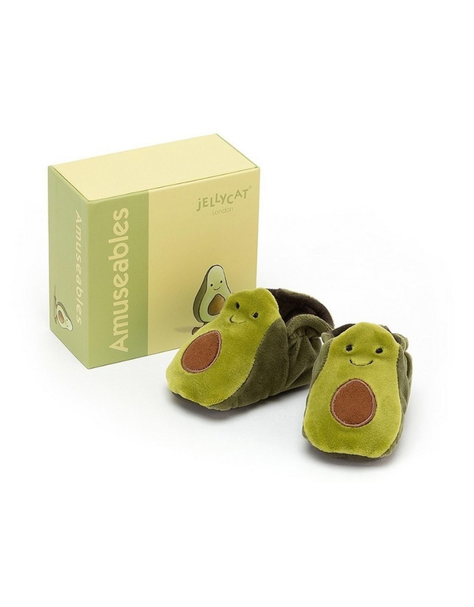 Jellycat Slofjes Amuseable Avocado Booties
