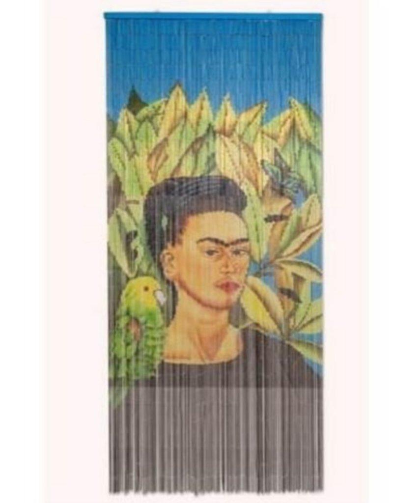 Kitsch Kitchen Vliegengordijn Frida Kahlo with Bird