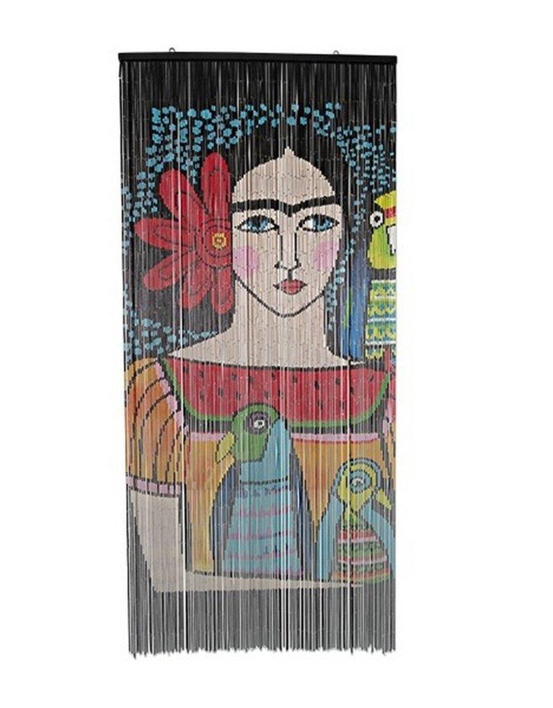 Kitsch Kitchen Vliegengordijn Frida Illustratie