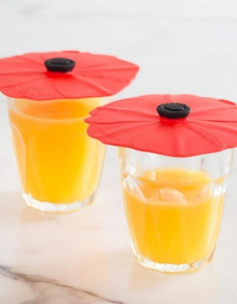 Charles Viancin Group Drinkcovers Poppy 2 stuks
