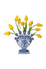 Flat Flowers Flat Flowers Delft Yellow