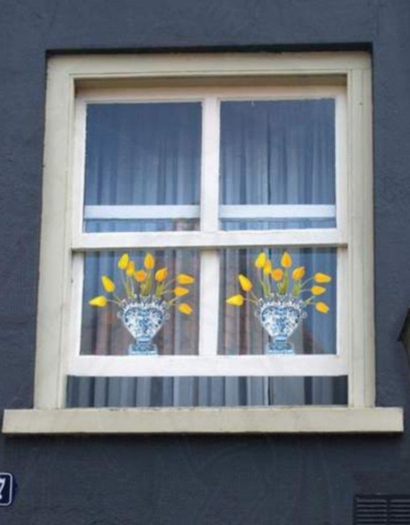 Flat Flowers Flat Flowers Delft Yellow