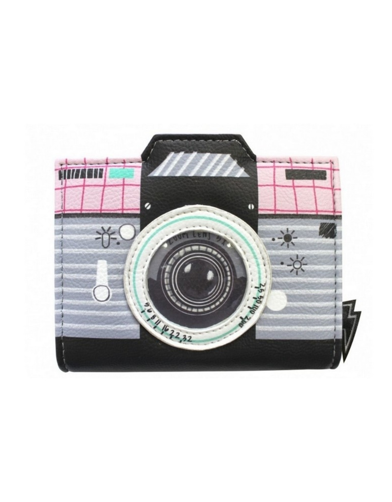 House of Disaster Portemonnee Pix Camera