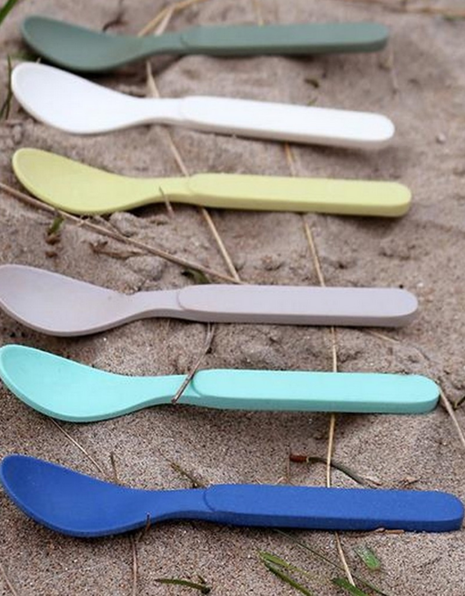 Zuperzozial Lepeltjes Spoonful of Colour Groen 6 stuks