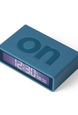 Lexon Alarm Clock Flip X Rubber Groen