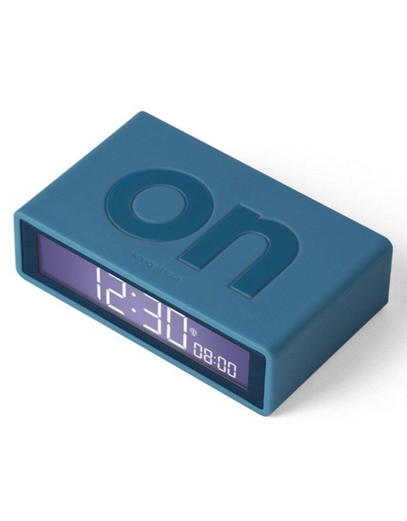 Lexon Alarm Clock Flip X Rubber Wit