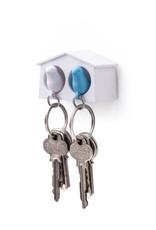 Qualy Sleutelhouder Mus Mini Duo Blauw
