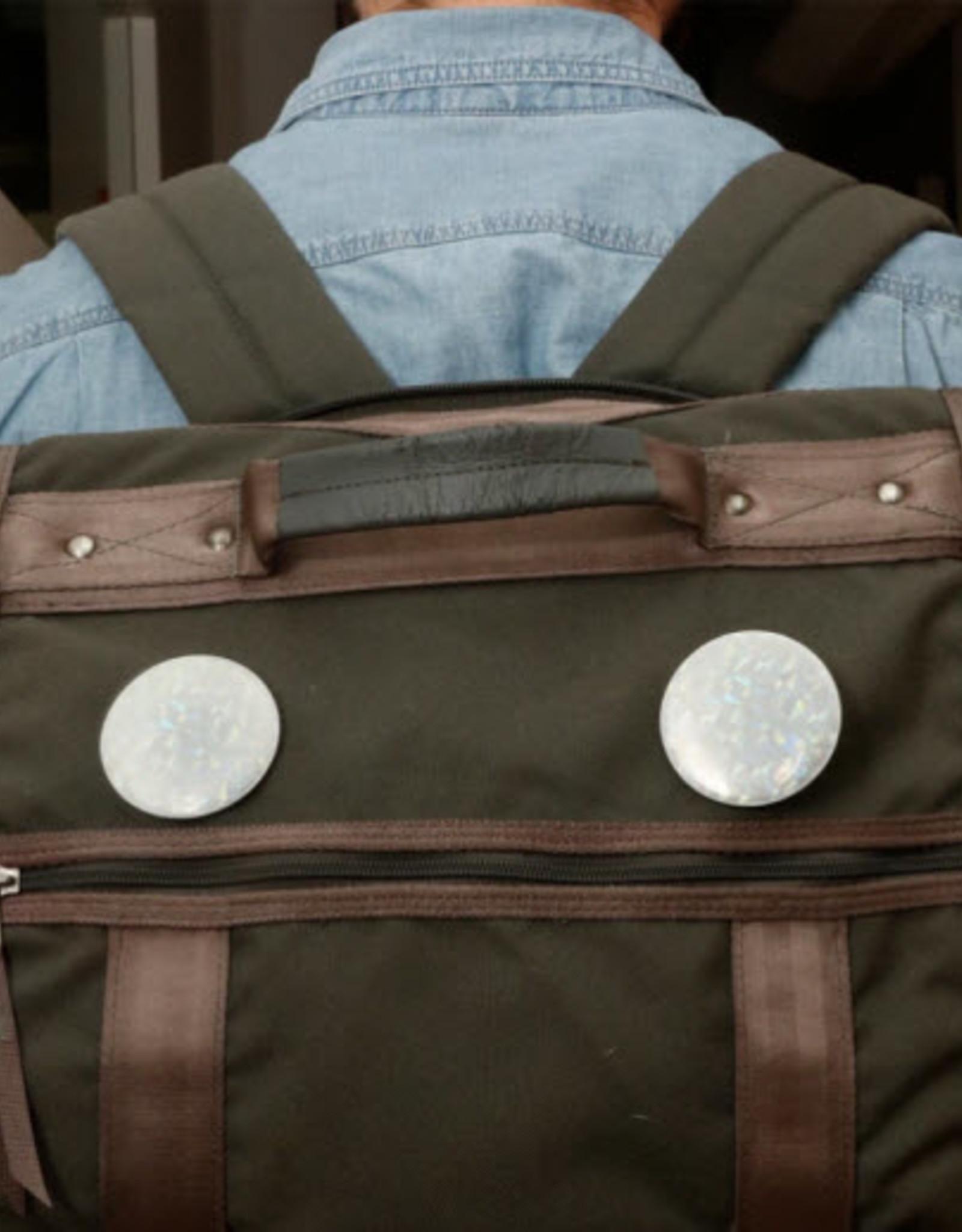 Kikkerland Reflective Buttons