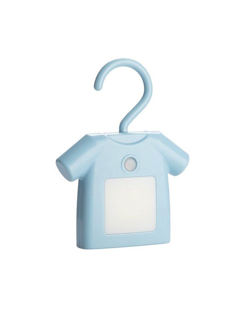Balvi Licht T-shirt met bewegingssensor Blauw