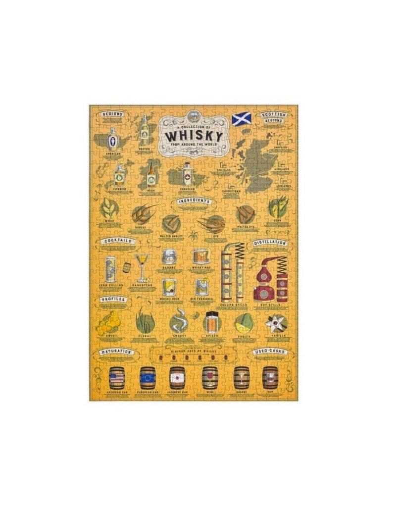Ridley's Games Puzzel Whiskey  Lovers 500 stukjes
