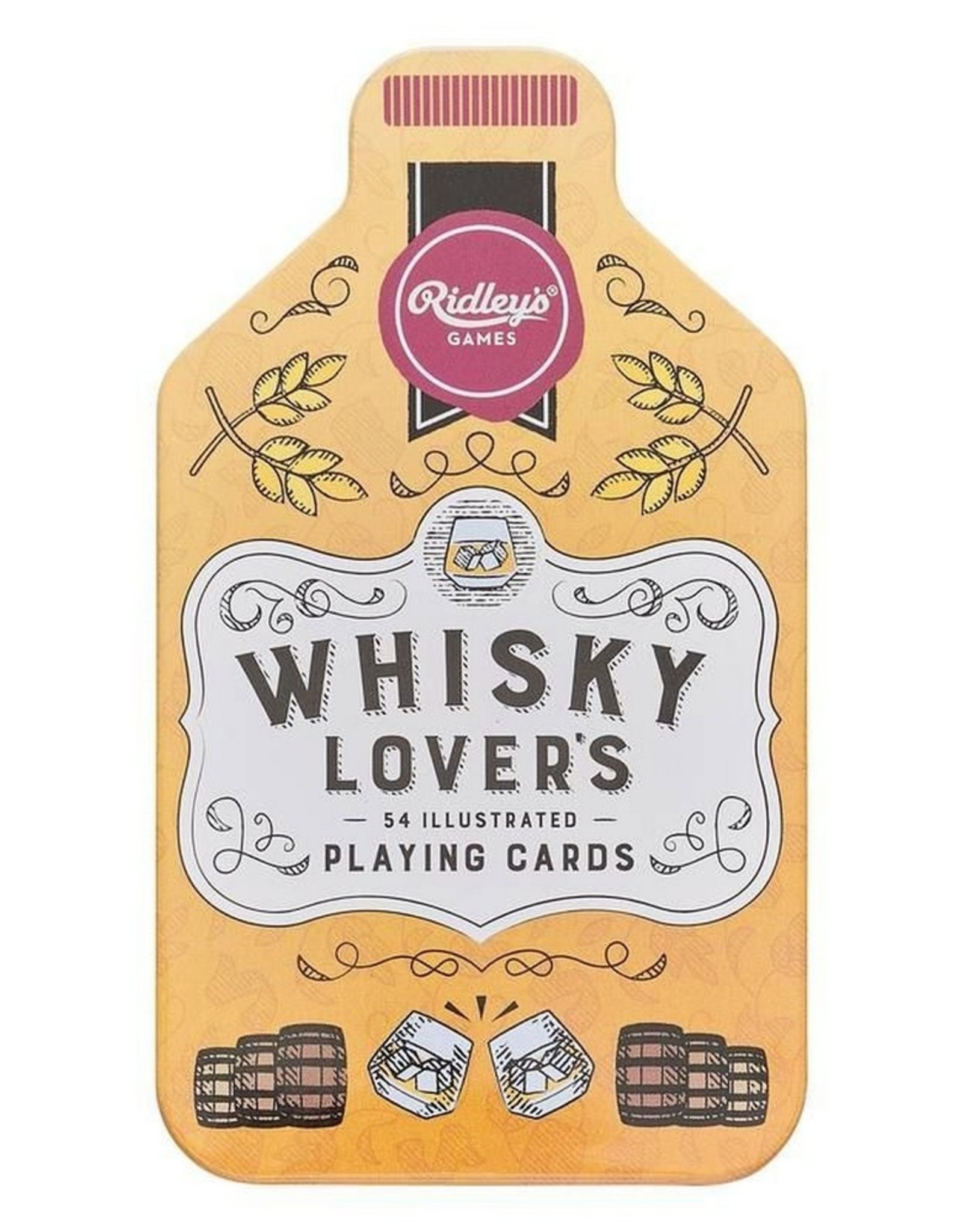 Ridley's Games Playing Cards Whiskey Lover's