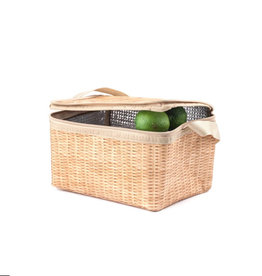 Kikkerland Lunch Box Wicker