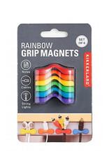 Kikkerland Grip Magneten Regenboog