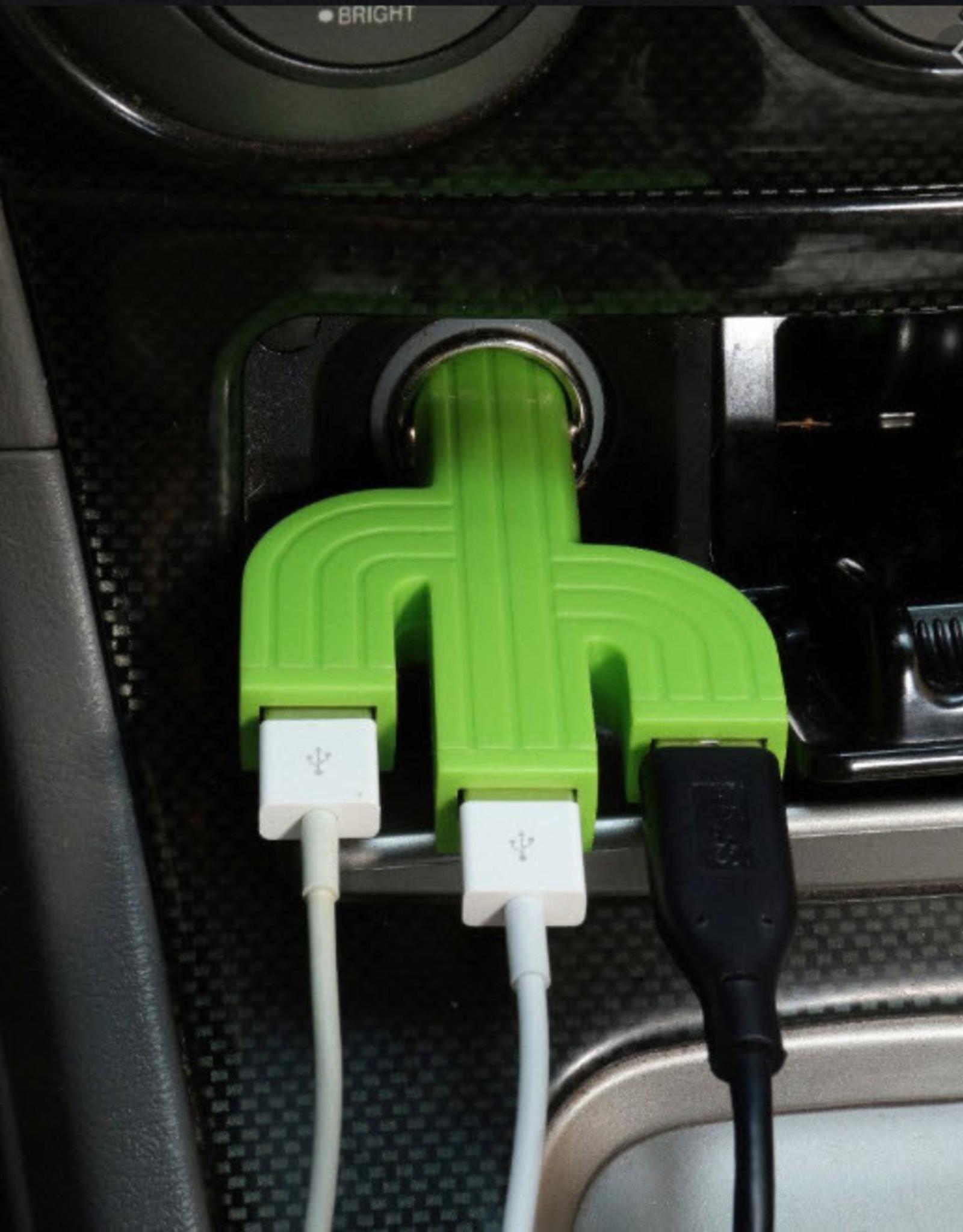 Kikkerland Cactus Auto-charger