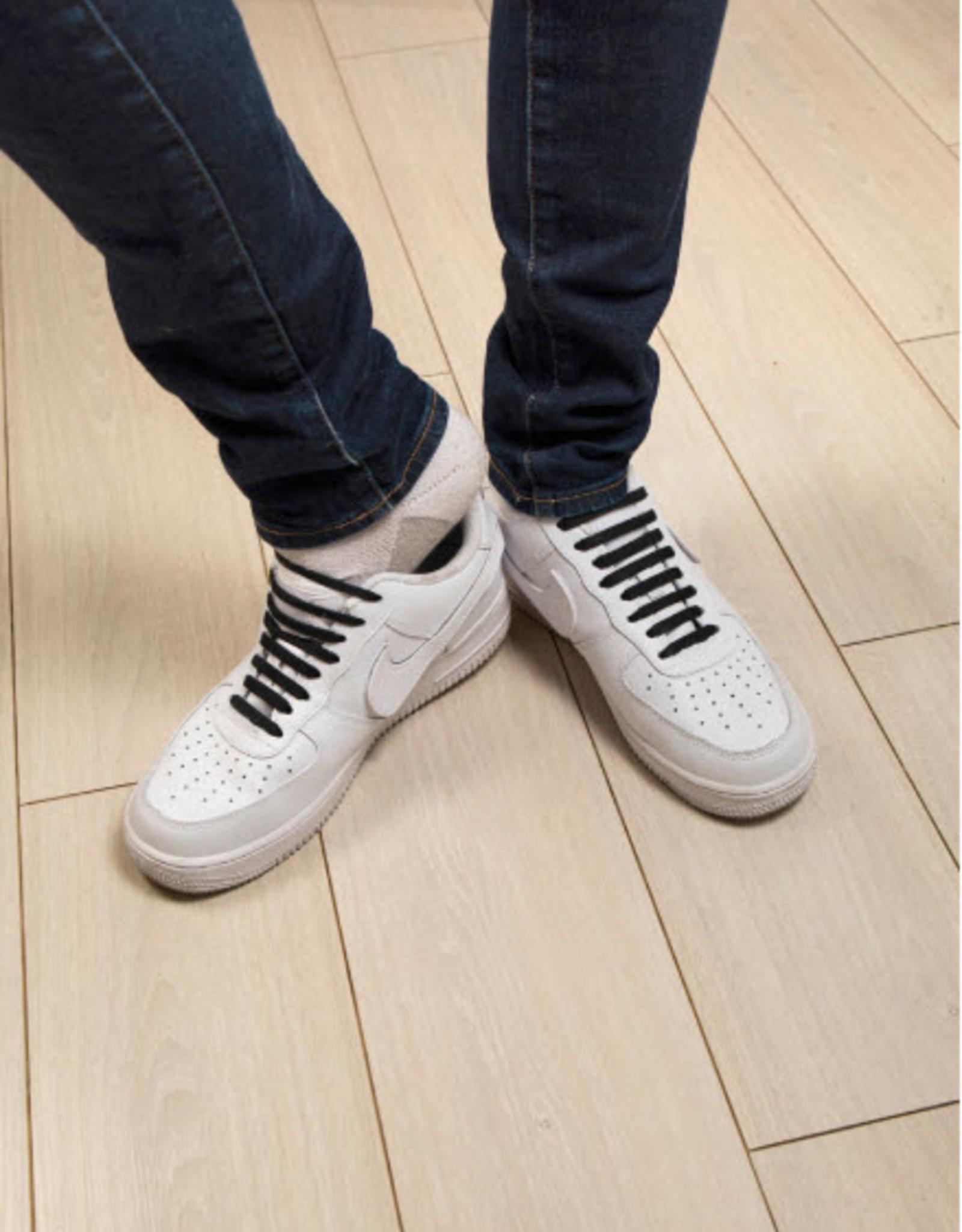 Kikkerland No Tie Shoe Bands Zwart