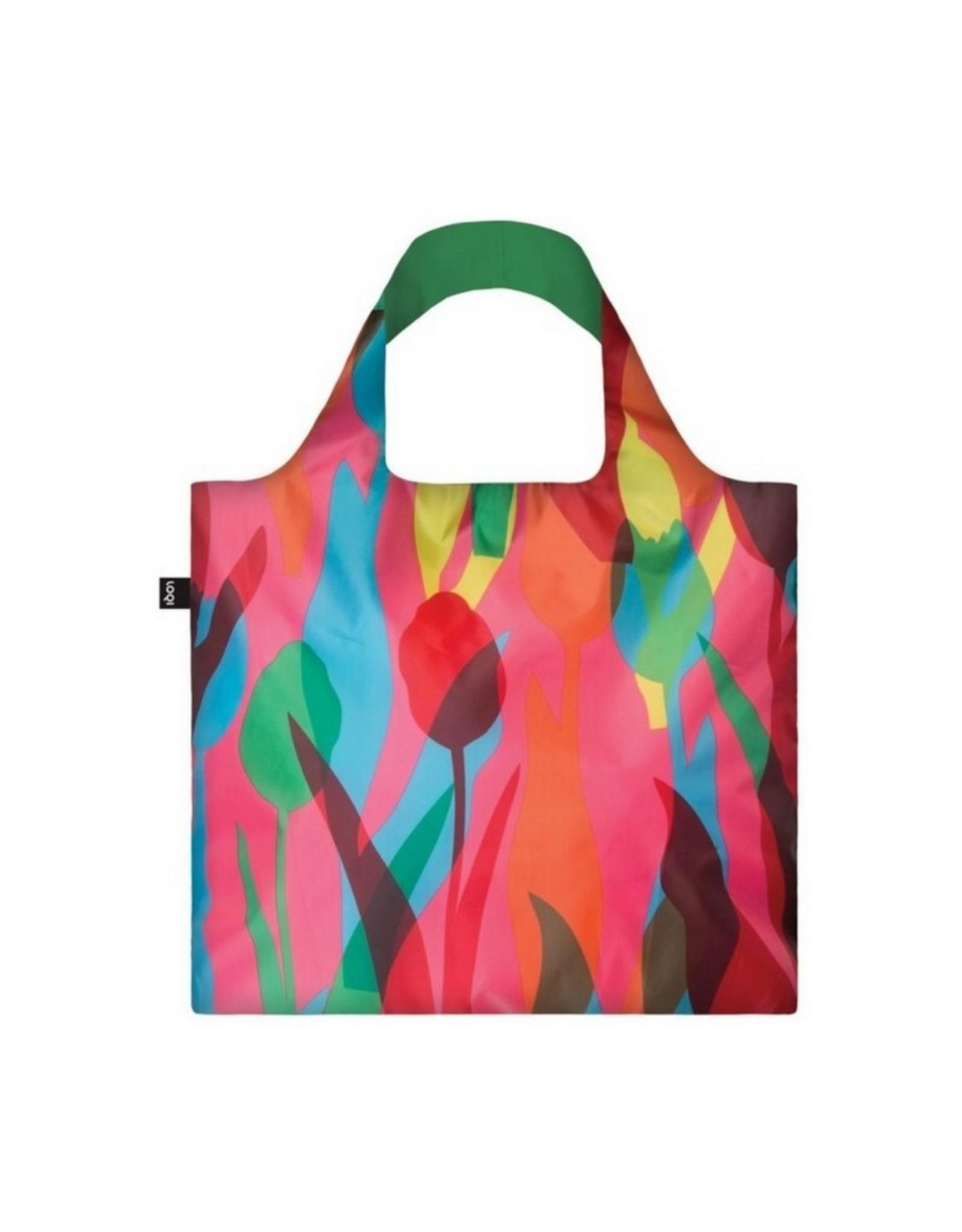 Loqi Opvouwbare Shopper Tulips