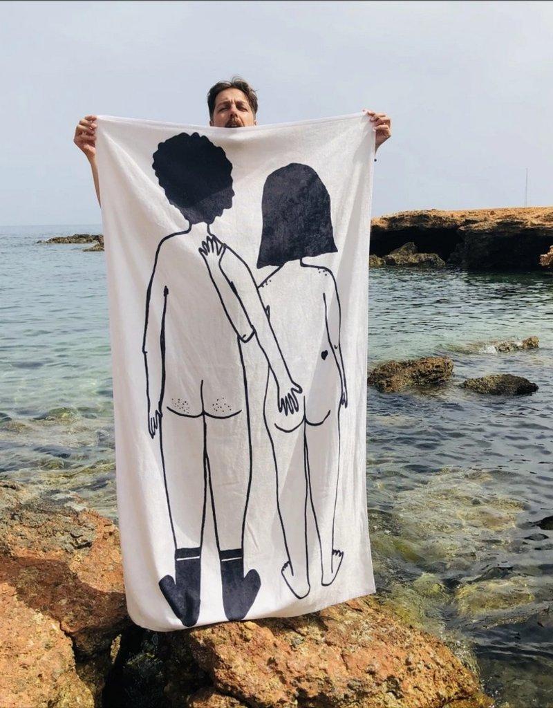 Helen B Strandlaken Naked Couple Back