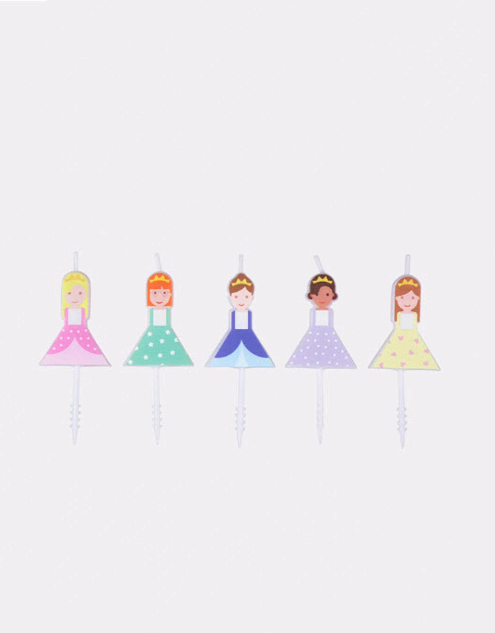 Nanoku Kaarsjes Prinses