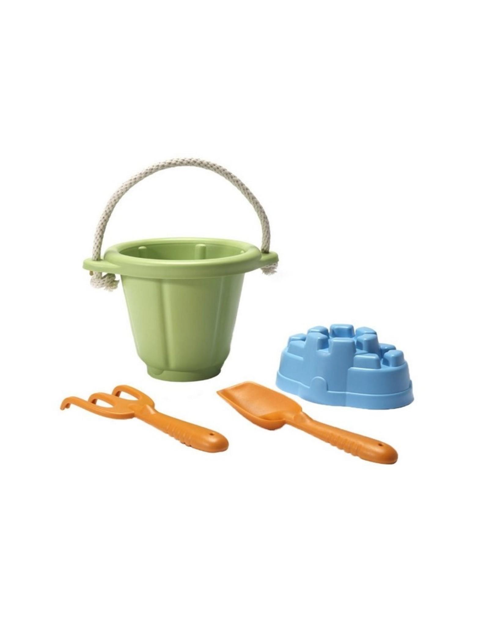 Green Toys Zandspeelset Groene Emmer
