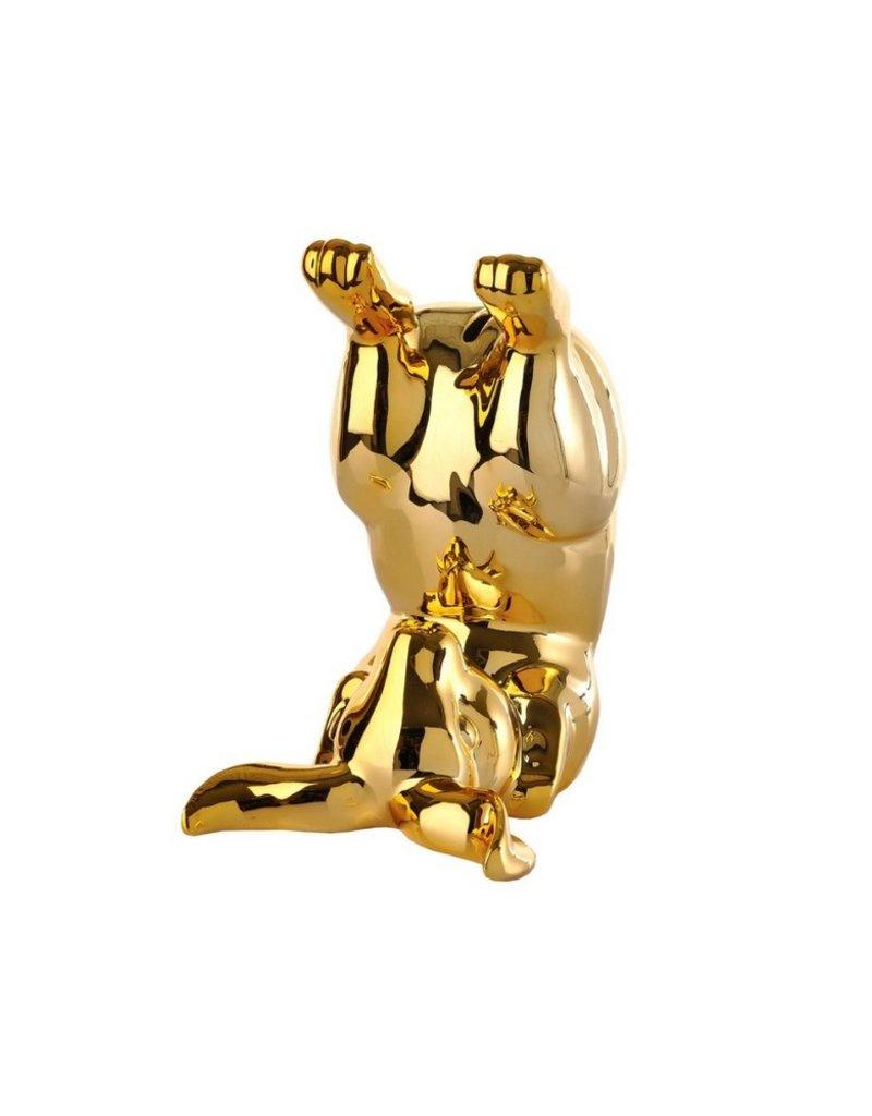 Pols Potten Moneybox Bunny Bum Gold