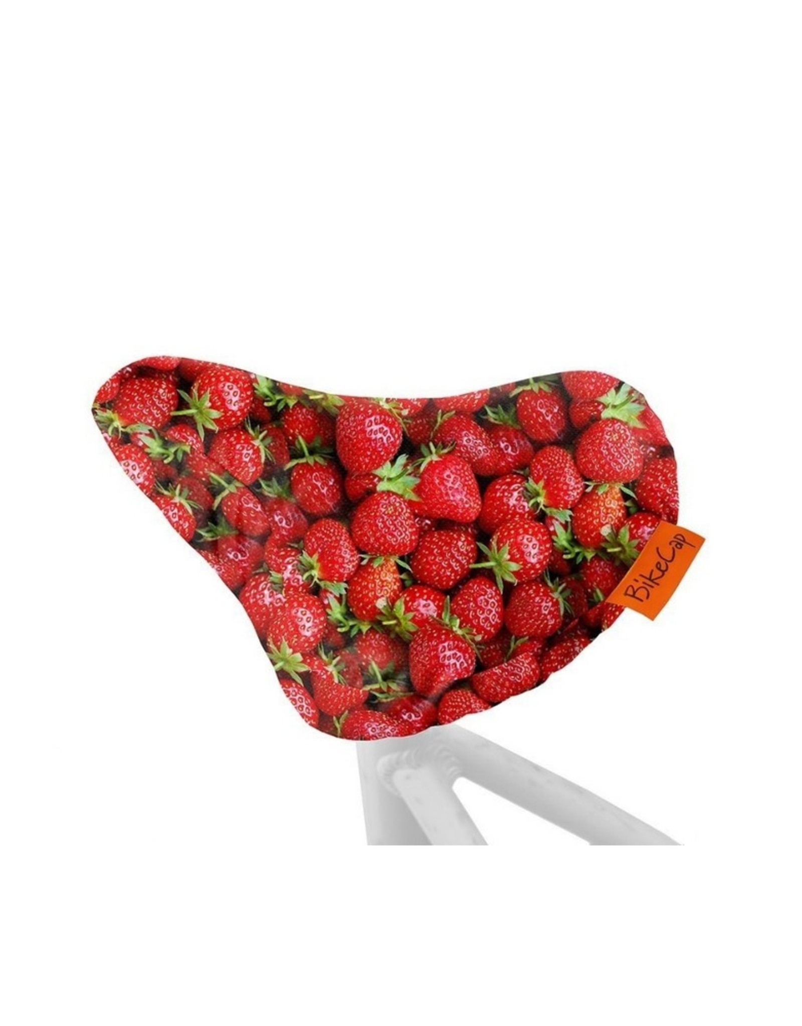 Bike Cap Fiets zadelhoesje Strawberries