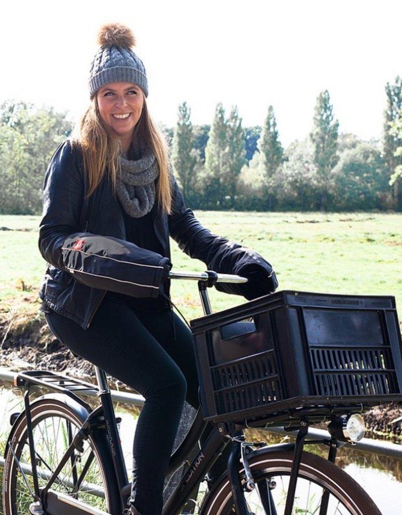Warm on Bikes Bike Pogies Urban Black