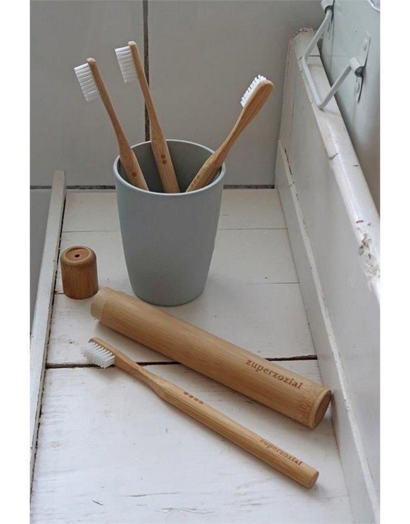 Zuperzozial Tandenborstel Bamboo 2 stuks