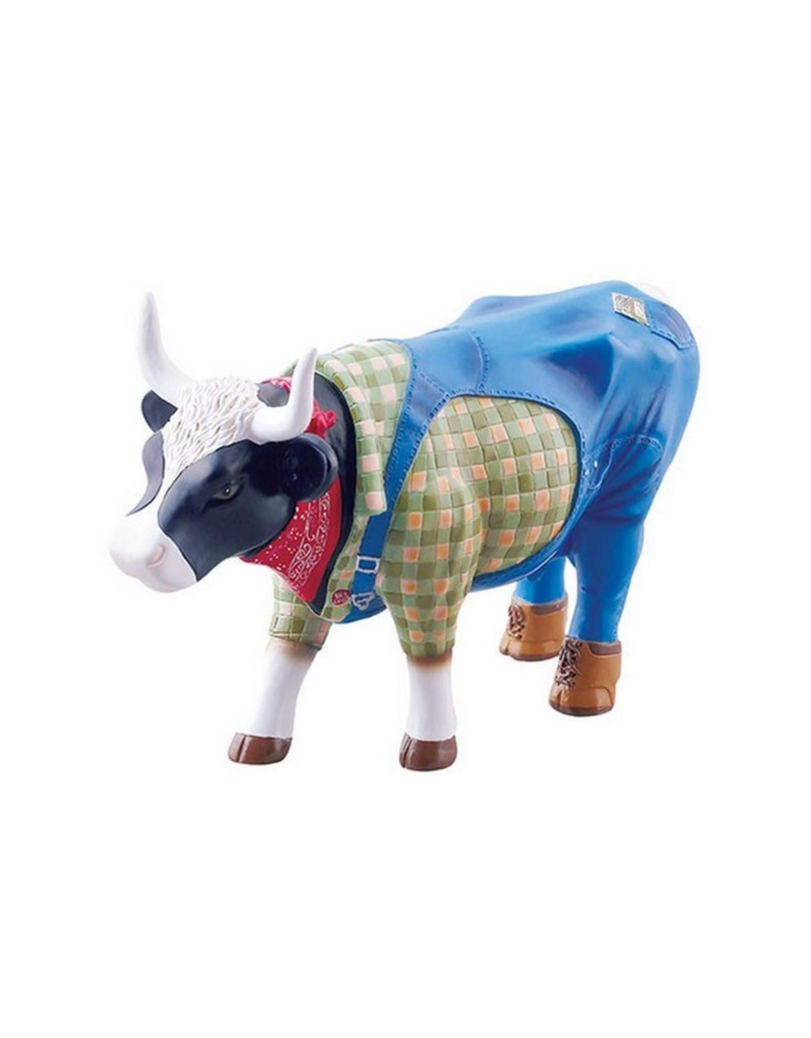 Cowparade Koe Farmer Cow Medium