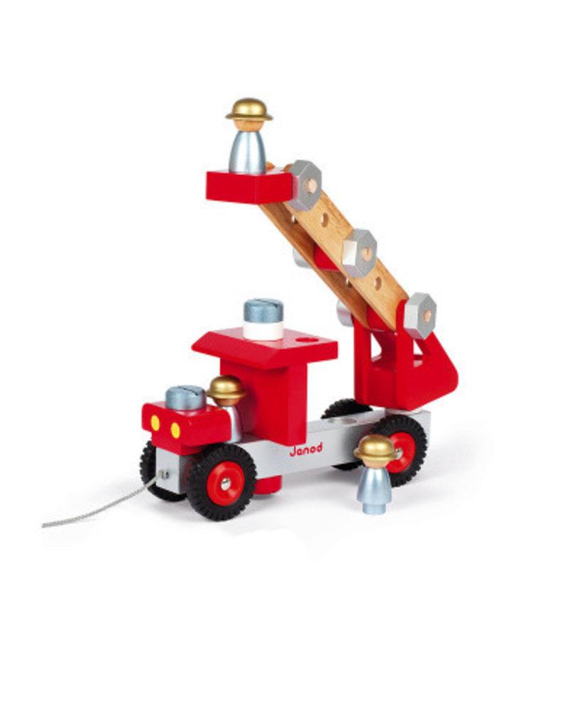 Janod Brandweerauto Hout