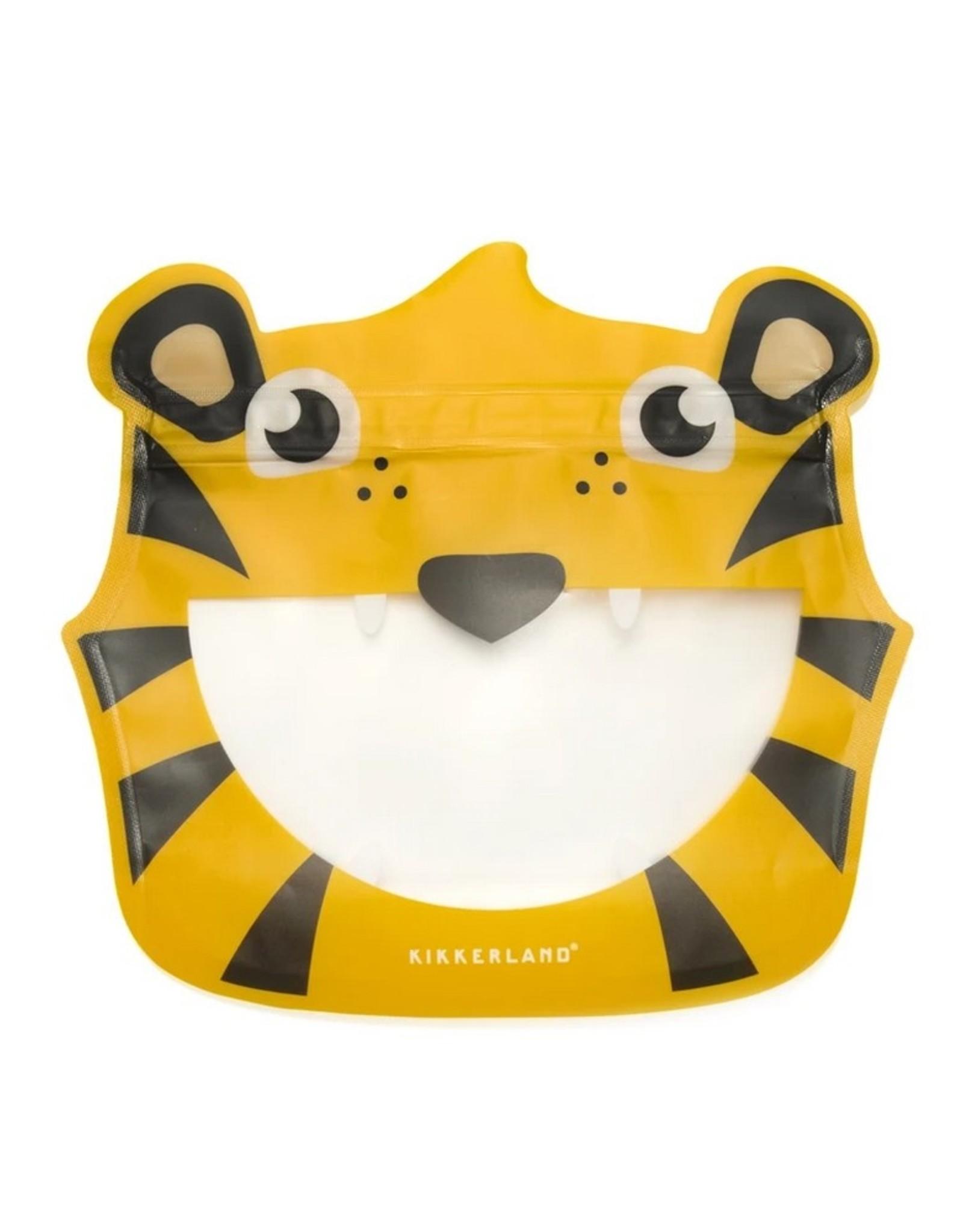 Kikkerland Zipper Bags Tiger 3 stuks