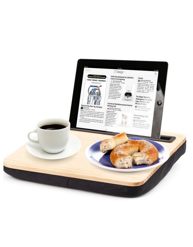 Kikkerland Ibed Lap Desk Wood